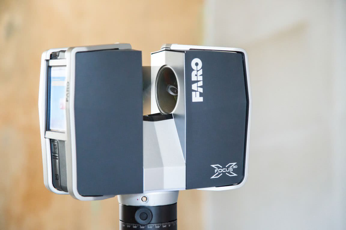 Anschaffung Faro Focus3D X 130